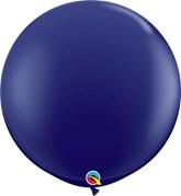 Qualatex Navy 3ft Latex Balloons 2pk