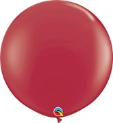 Qualatex Maroon 3ft Latex Balloons 2pk