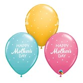 Mother's Day Polka Dot Latex 25pk