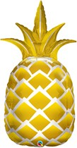 "Golden Pineapple 44"" Foil Balloon"