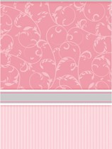 Pink Blessings Plastic Tablecover