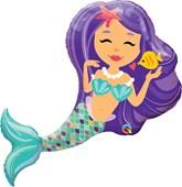 "Enchanting Mermaid 38"" Foil Balloon"