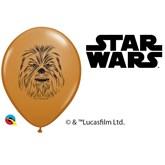 """Star Wars Chewbacca 5"""" Latex Balloons 100pk"""