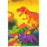 Prehistoric Dinosaur Plastic Party Tablecover