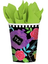 Mad Tea Party Paper Cups 8pk