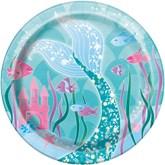 Mermaid Party 18cm Paper Plates 8pk