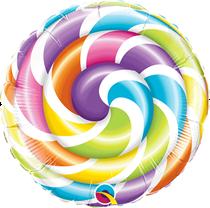 "Lollipop 9"" Air Fill Foil Balloon"