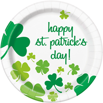 "St Patrick's Day 9"" Plates 8pk"