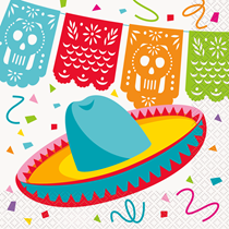Festive Fiesta Lunch Napkins 12pk