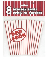 8 Small Popcorn Boxes