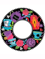 "Mad Tea Party 9"" Paper Plates 8pk"
