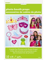 Princess Party Photo Props 10pk