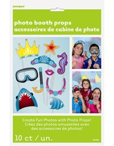 Under the Sea Princess Party Photo Props 10pk