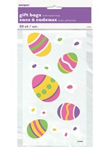 Small Easter Egg Cello Bags 20pk
