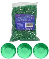 Emerald Green Wedding Diamantes 500g