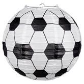 Wire Frame Football Lantern 25cm