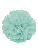 Mint Puffball Hanging Decoration