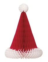 Christmas Santa Hat Honeycomb Decoration