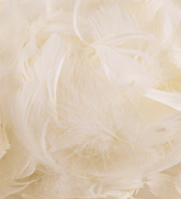 Eleganza Ivory Mixed Feathers 50g