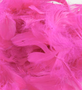 Eleganza Fuchsia Mixed Feathers 50g