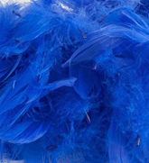 Eleganza Royal Blue Mixed Feathers 50g