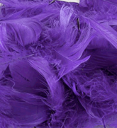 Eleganza Purple Mixed Feathers 50g