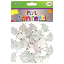Iridescent Foil Unicorn Shaped Confetti