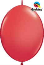 "12"" Red Quick Link Latex Balloons - 50pk"