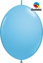 """12"""" Pale Blue Quick Link Latex Balloons - 50pk"""