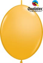 "12"" Goldenrod Quick Link Latex Balloons - 50pk"