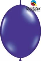 "12"" Quartz Purple Quick Link Latex Balloons - 50pk"