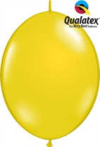 "12"" Citrine Yellow Quick Link Latex Balloons - 50pk"