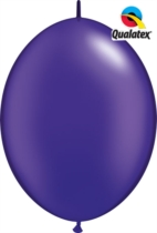 "12"" Pearl Purple Quick Link Latex Balloons - 50pk"