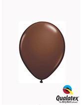 "5"" Chocolate Brown Latex Balloons 100pk"