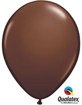 "11"" Chocolate Brown Latex Balloons 100pk"