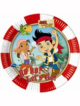 Jake And The Neverland Pirates Paper Plates 8pk