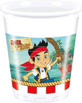 Jake And The Neverland Pirates Plastic Cups 8pk