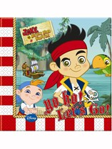 Jake And The Neverland Pirates Paper Napkins 20pk