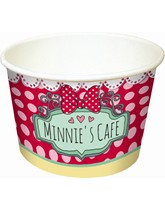 Minnie Cafe Ice Cream Bowls 8pk