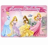 Disney Princess & Animals Party Candle