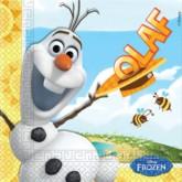 Frozen Olaf Napkins 20pk