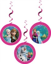 Frozen Hanging Decorations 3pk
