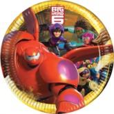 Big Hero 6 Paper Plates 8pk