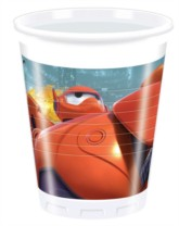 Big Hero 6 Plastic Cups 8pk