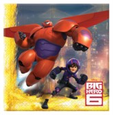 Big Hero 6 Luncheon Napkins 20pk