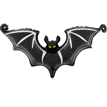 "Halloween Scary Bat 25"" Foil Balloon"