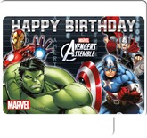 Avengers Assemble Happy Birthday Candle