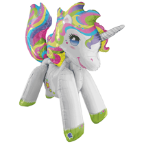 Joinable 3.5ft Unicorn Foil Balloon