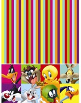 Looney Tunes Plastic Tablecover