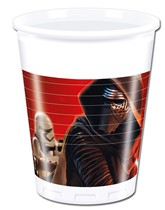 Star Wars The Force Awakens Plastic Cups 8pk
